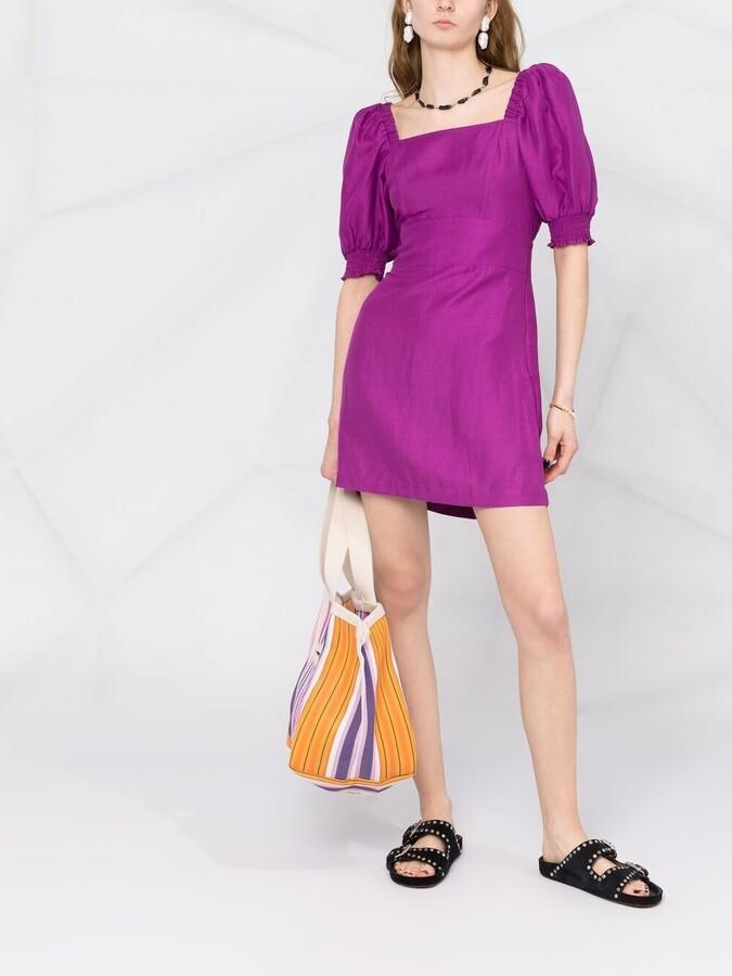 Thumbnail for your product : BA&SH Palaia puff-sleeve dress
