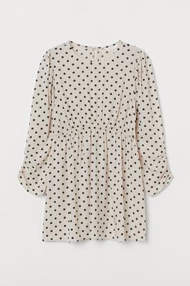 H&M MAMA Puff-sleeved Tunic