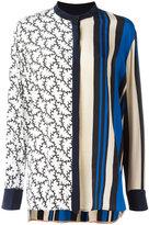 Diane von Furstenberg striped blouse - women - Silk - XS