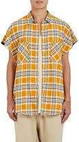 Fear Of God Men's Brushed Flannel Sleeveless Shirt
