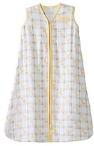 Halo SleepSack Wearable Blanket 100% Cotton Muslin - Yellow Giraffe (Large)