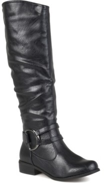 Journee Collection Women's Charming-01 Wide Calf Boot Women's Shoes