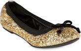 Michael Antonio Pearl Glitter Ballet Flats