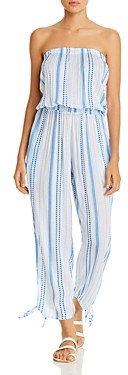 Cool Change Coolchange Maya Striped Jumpsuit Swim Cover-Up