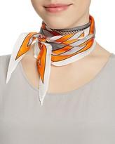 Echo Stripes Diamond Silk Oblong Scarf
