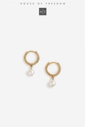 Topshop Pearl Drop Earrings