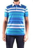 Paul & Shark Men's Light Blue Cotton Polo Shirt.