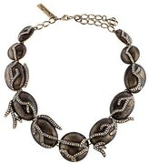 Oscar de la Renta Crystal Bead Necklace