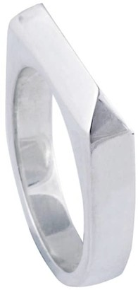 Edge Only Rooftop Ring Silver