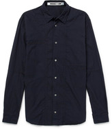 McQ Embroidered Cotton Shirt