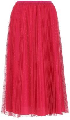 RED Valentino Tulle Midi Skirt