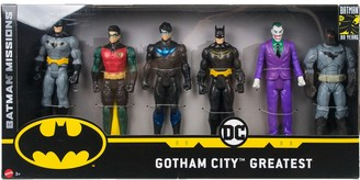 Mattel DC Comics Batman Missions Gotham's Greatest Multi-Pack