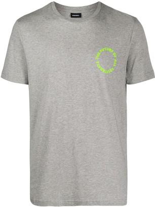 Diesel slogan T-shirt