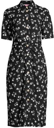 Nerissa Dandelion Floral Shirtdress