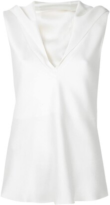 Gloria Coelho layered blouse