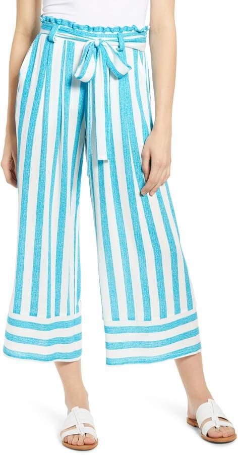 Gibson x Hi Sugarplum! Milos Wide Leg Paperbag Waist Pants