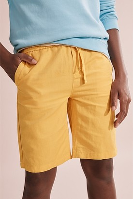 Country Road Teen Drawcord Linen Short