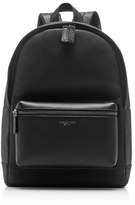 Michael Kors Bryant Leather Backpack Black