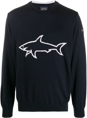 Paul & Shark Fine Knit Virgin Wool Jumper
