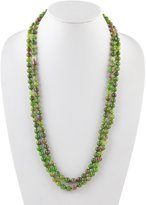 Barse Agate Wrap Necklace