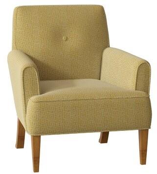 Hekman Faye Armchair Body Fabric: 1002-051, Leg Color: Birmingham