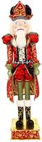 "Mark Roberts Red 48"" Royal Crown Nutcracker"