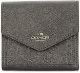 Coach metallic small wallet