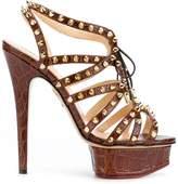 Charlotte Olympia studded platform sandals