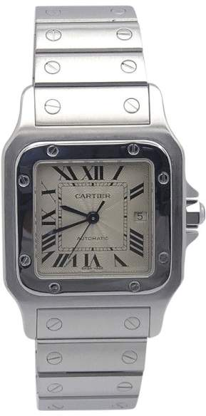 Cartier Santos Galbee Stainless Steel Automatic 24mm Womens Watch