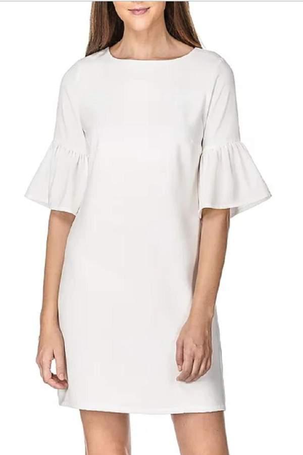 Jade Trumplet Sleeve Dress