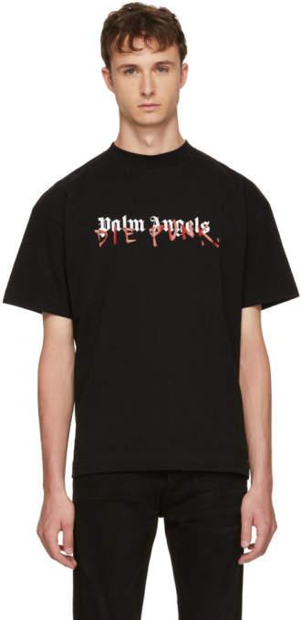Palm Angels Black Playboi Carti Edition Die Punk T-Shirt