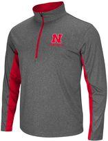 Big & Tall Campus Heritage Nebraska Cornhuskers Stinger 1/2-Zip Pullover