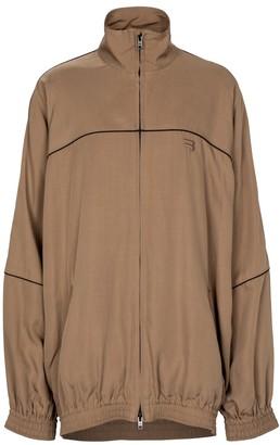Balenciaga Technical poplin track jacket