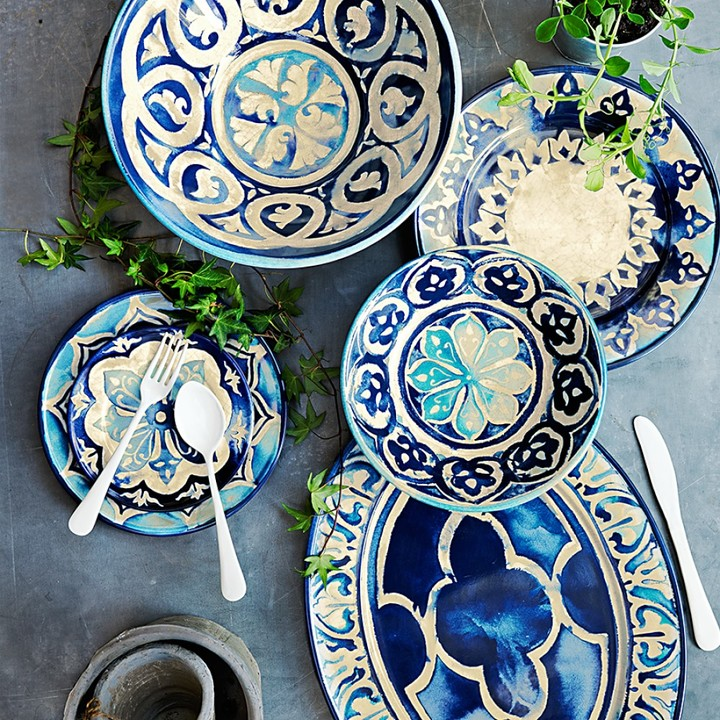 Williams-Sonoma Byzantine Melamine Platter