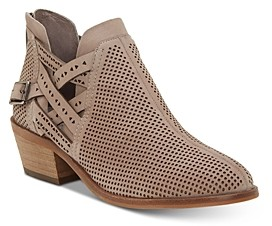 Vince Camuto Women's Pranika Perforated Booties