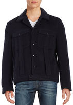 Carlos Campos Wool Trucker Jacket