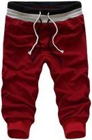 Panegy Mens Jogger Dance Sportwear Baggy Harem Pants Slacks Trousers Size L