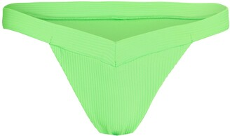 Frankie's Bikinis Grace Rib Knit Bikini Bottoms
