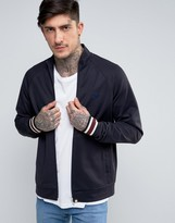 Pretty Green Forston Track Jacket in Navy