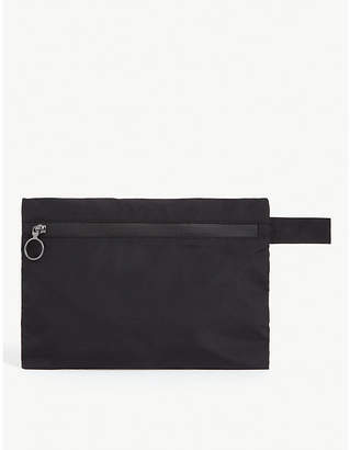 Off-White OFFWHITE Quote canvas pouch
