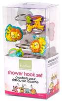 Kushies Baby Jungle Themed Shower Hooks, 4-Piece