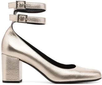 Yves Saint Laurent Pre-Owned Double Ankle Strap Pumps