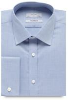 J By Jasper Conran Pale Blue Jacquard Tailored Shirt
