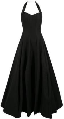 Halston \N Black Cotton Dresses