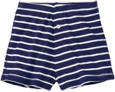 Hanna Andersson Navy Stripe Organic Cotton Knit Boxers