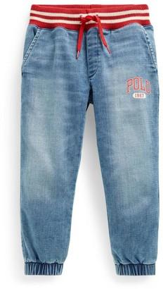 Ralph Lauren Kids Polo Denim Sweatpants (5-7 Years)