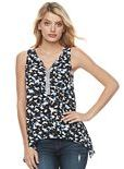 Juicy Couture Women's Embellished Handkerchief Tank