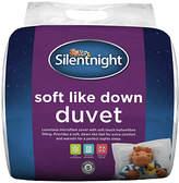 Silentnight Soft Like Down Anti-Allergy 10.5 Tog Duvet - Sgl