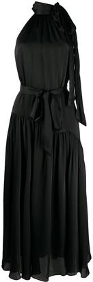 Zimmermann Bow Detail Drape Dress