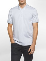 Calvin Klein Classic Fit Textured Auto Stripe Polo Shirt